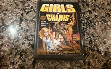 GIRLS IN CHAINS New Sealed DVD! 1973 Rape Revenge! Friday The 13th The Forest
