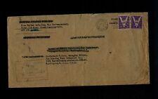D-Day Dispatch Envelope from War Corresondent Walter McCallum of Evening Star