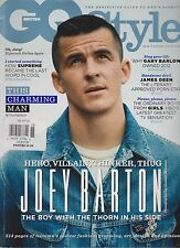 GQ STYLE MAGAZINE BRITISH WINTER 2012, JOEY BARTON.