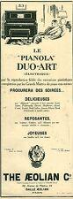 """Publicité Ancienne """" Musique Le PIANOLA DUO-ART  1925 ( P 35)"""