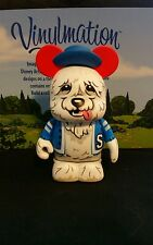 "DISNEY World VINYLMATION Park 3"" Set 1 Movieland The Shaggy Dog"
