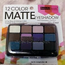 Beauty Treats 12 Color Matte Eyeshadow Palette [SHADE: 02 - COOL]