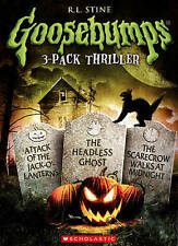 Goosebumps: Attack of the Jack O'lanterns/The Headless Ghost/The Scarecrow walks