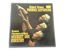 5 Vinilos LP Richard Strauss Poemas Sinfonicos Orquestra de Berlin