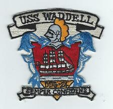 60s-70s USS WADDELL DDG-24(JAPANESE MADE) patch