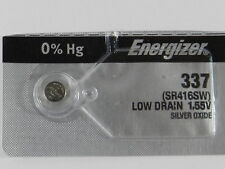 Energizer 337 SR416SW Button Cell Silver Oxide Watch Battery, 1Pc