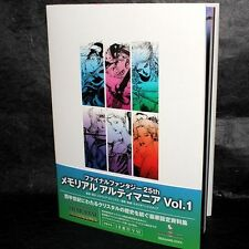 FINAL FANTASY 25TH MEMORIAL ULTIMANIA VOL. 1 I TO VI GAME ART BOOK NEW
