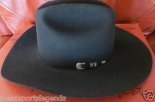 Bailey's 200x  Sable&Beaver Black Cowboy Hat-Never Used-Original Box