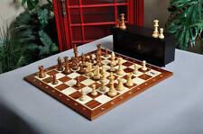 The Club Series Chess Set, Box, & Board Combination