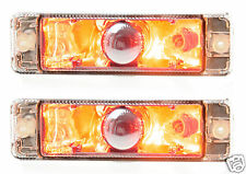 NEW, PAIR of ARB Bullbar Indicators with Park lights, lamps, Signals 135x38mm