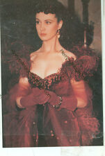 """GONE WITH THE WIND-SCARLETT WITH FANCY RED DRESS-COLOR PHOTO(GWTW-43*)4""""X6"""" NEW"""
