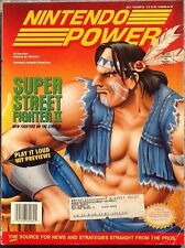 NINTENDO POWER Magazine Vol 62 Super Street Fighter II Itchy & Scratchy Poster