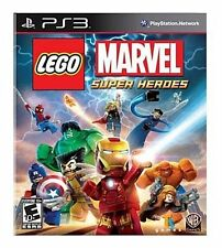 PS3 LEGO MARVEL SUPER HEROES (GREATEST HITS)  NEW SEALED Sony Playstation 3