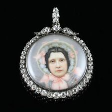 ANTIQUE SUFFRAGETTE DIAMOND PENDANT - WIFE OF SYBIL THOMAS VISCOUNTESS RHONDDA