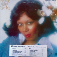 DEE DEE SHARP GAMBLE - WHAT COLOR IS LOVE - PHIL. INT. LP - TIMING STRIP, WLP