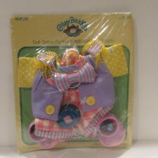 """1986 Coleco Cabbage Patch Circus Kids Clothes Red Clown Outfit NRFB 3691 Fit 16"""""""