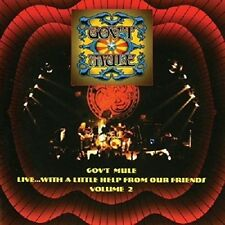 Gov't Mule Live...With A Little Help From Our Friends Volume 2 CD NEW SEALED