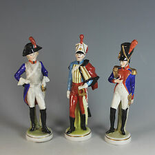 Three Napoleonic Scheibe Alsbach Kister Soldiers Different Uniforms