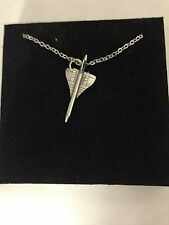 """Concorde WE-CONKR English Pewter on a Silver Platinum Plated Necklace 18"""""""