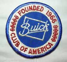 Vintage Buick Club Of America founded 1966 Automotive Patch car club advertising