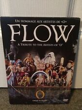 "FLOW A Tribute To The Artists Of ""O"" DVD Cirque Du Soleil Free Shipping"