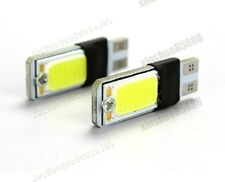 2pc WHITE T10 LED 194 COB Wide Bulb Light Parking backup Fog Brake Lamp  HL-1