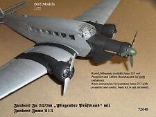 Ju 52/3m Flying banc d'essai avec Jumo 213 1/72 Bird MODELS KIT CONVERSION/Conv. Kit