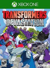 XBOX ONE XB1 GAME TRANSFORMERS DEVASTATION BRAND NEW AND SEALED