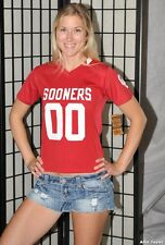 Oklahoma Sooners NCAA football jersey shirt - Red - Youth Small