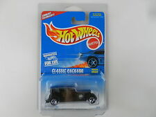 Hot Wheels Classic Packard #625 Black, 5 Spokehubs A1