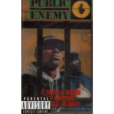 Public Enemy - It Takes A Nation Of Millions To Hol (Tape - 1988 - US - Reissue)