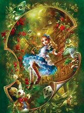 Jigsaw puzzle Entertainment Fairy Tale Book  Alice in Wonderland 300 piece NEW