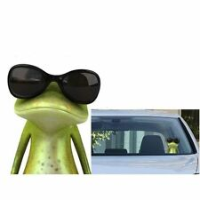 Funny Wear Sunglasses 3D Green Frog Car Stickers Truck Window Vinyl Decal