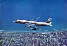 Airline Issue Postcard JAL DC8