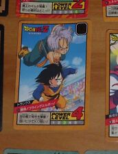 DRAGON BALL Z GT DBZ SUPER BATTLE POWER LEVEL PART 9 CARD CARTE 371 JAPAN **
