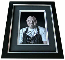 Tom Kerridge Signed 10x8 FRAMED Photo Autograph Display TV Chef Doodle Art & COA