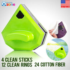 Magnetic Window Cleaner Double Side Car Glass Wiper Cleaner Surface Useful Brush