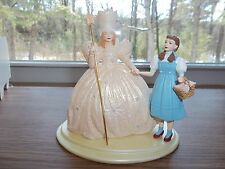 "1998 HALLMARK WIZARD OF OZ DOROTHY & GLINDA ORNAMENT ""THE GOOD WITCH"" NEW IN BOX"