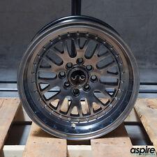 17x9 JNC JNC001 CCW Style 001 5x100/5x114.3 20 Hyper Black Wheel Rim set(4)