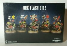 Games Workshop Warhammer 40k Ork Flash Gitz NIB SEALED FREE SHIPPING