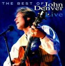 The Best of John Denver Live (CD, Jul-1997, BMG) Free Shipping!