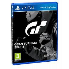 Preordine dicembre 2017 GT SPORT nuovo per Playstation 4 PS4 italiano
