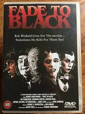 Dennis Christopher Mickey Rourke FADE TO BLACK ~ 1980 Cult Horror | Rare UK DVD