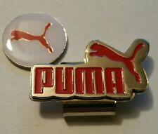 Brand New White and Red Puma Golf Ball marker with hat clip!!