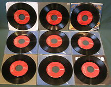 Elvis Presley Collection Lot (9) RCA Red Label Gold Standard 45's NM MINT