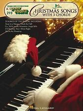 E-Z PLAY #219 CHRISTMAS SONGS WITH 3 CHORDS - PIANO SONGBOOK 100156
