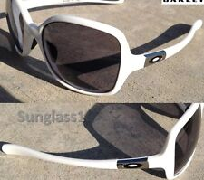 NEW* Oakley OBSESSED WHITE w Black Iridium Lens Womens Sunglasses 9192-14