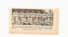 Crookston Pirates 1934 Team Picture Luke Boone RARE