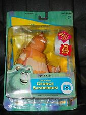 NIP 2001 Hasbro Disney Pixar MONSTERS INC. Top Scarer GEORGE SANDERSON Figure