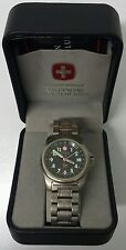 Wenger Men's Swiss Military Titanium Grenadier Swiss Made, Used